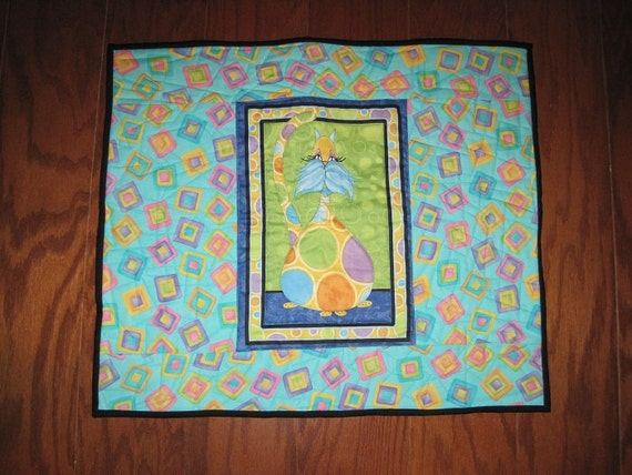 Quilted Cat Mat & Blanket - CM2