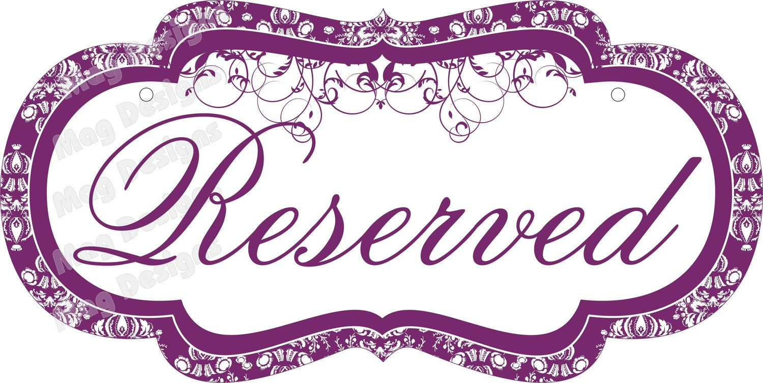 I reserved just for you 5