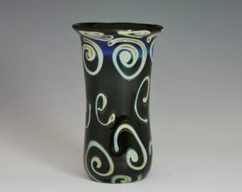 Blown Shot Glass - Lampwork Boro Glass Vase