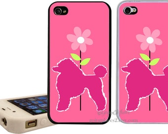 Poodle iphone Case fits iPhone 6, 5, 4 and 4s