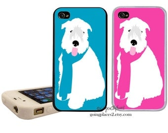 iphone Wheaten Terrier iphone Case fits iphone 6,5, 5c, 4 and 4s