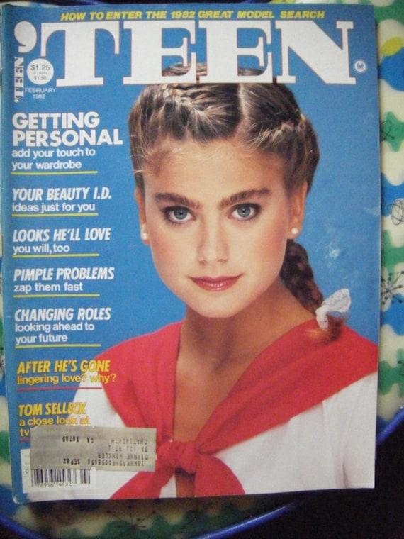 Teen Magazine February 1982 Kathy Ireland Fun Fashion Retro