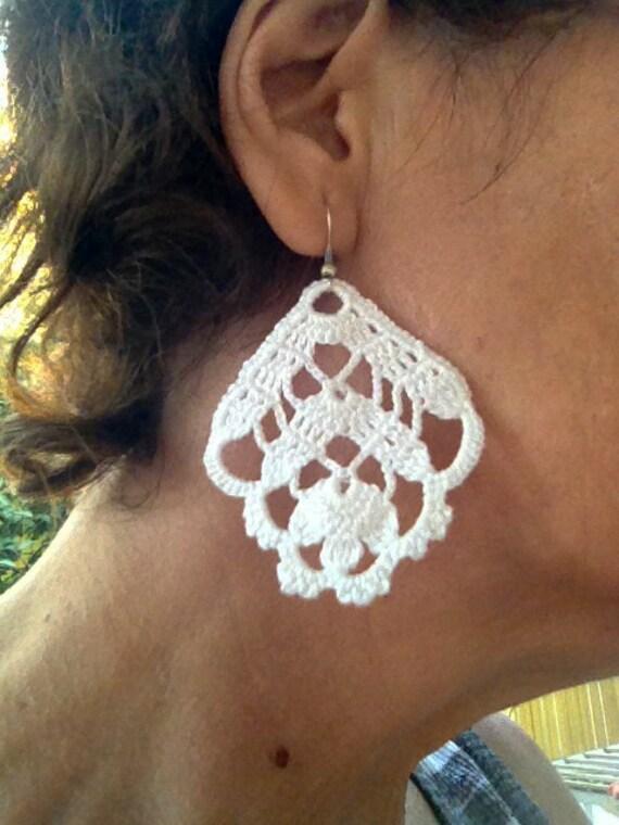 PDF Tutorial Crochet Pattern...Dangle Earrings -6