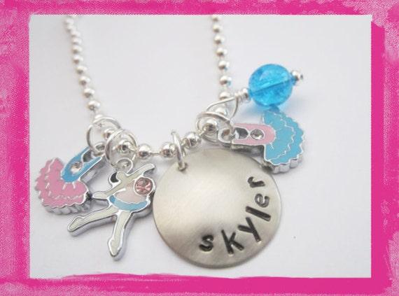 Ballet Charm Necklace  - TINY DANCER Ballerina Necklace for Children