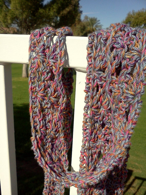 Autumn Light Weight Multi Colored Scarf....