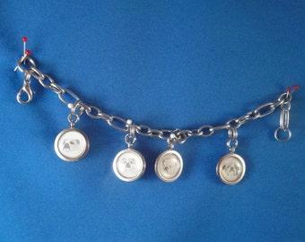 Circular Charm Bracelet
