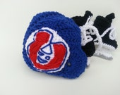 Montreal Canadiens helmet and ice skates, nhl skates, Montreal Canadiens