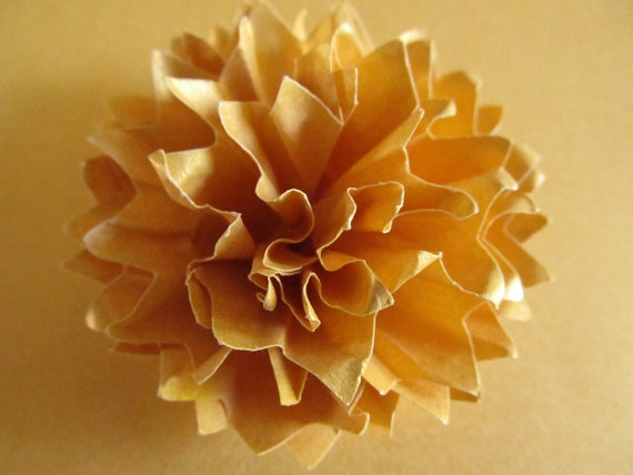 Wedding paper flowers in the color of your choice 100-2 1/2 inch-Open Flowers-Handmade