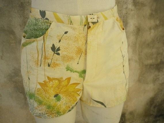Summer Short in Floral Vintage Cotton FINAL SALE