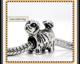 Scruffy - Cute Dog Charm - European Style