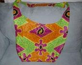 Bright Large Fabric Bag