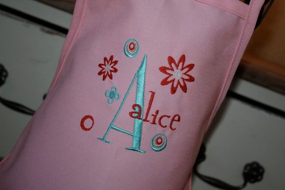 Personalized Apron for Girls