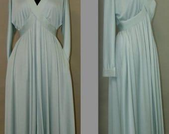 Vintage Dress, 1970s, Custom Tailored