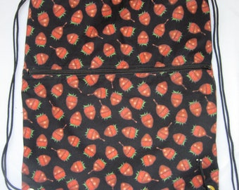 Sugar Rush Chocolate Strawberries: Backpack/tote clearance