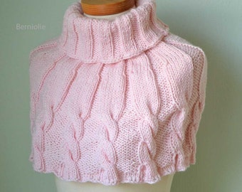 DHARMA, Knitting capelet pattern pdf