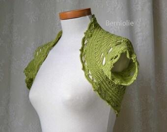 VERA Crochet shrug pattern pdf
