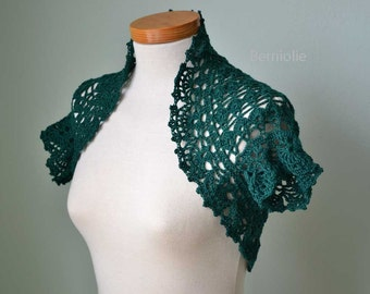QUINTY, Crochet shrug pattern pdf