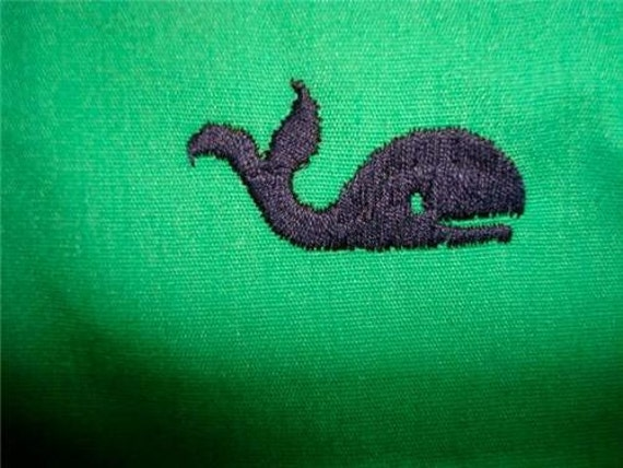 Vintage green whale critter pants Murray's Toggle Shop Nantucket Reds Collection