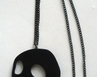 Jack Skellington from The Nightmare Before Christmas black necklace