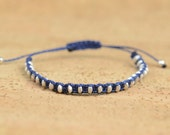 Woven  bracelet. Sterling silver