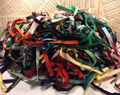 Ginormous Lot of Half Zippers for Creating Flowers, for use in Mixed Media Items or to Craft into your own Creattion