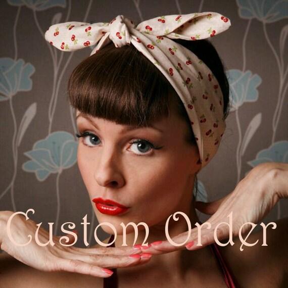 Custom order for Jo.