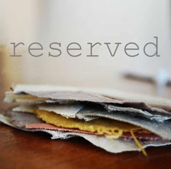 reserved for carin
