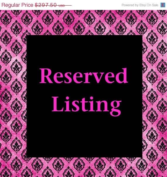 Reserve Listing for jennifer