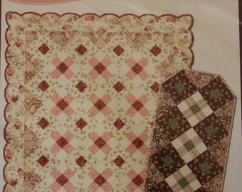 Winter Enchantment by Sonja Lea Designs Pieced Quilt Pattern