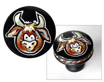 Cowboy Western COW Knob