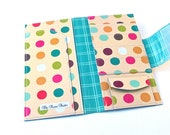 CUSTOM ORDER - Travel Organizer - Colored Dots
