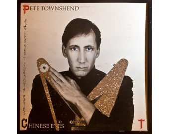 Glittered Pete Townsend Chinese Eyes Album