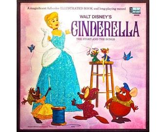 Glittered Vintage Cinderella Album