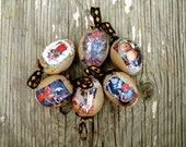 Halloween Ornament, The Witching Hour Ornament Set of 6