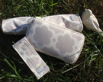 "New-Design Your Own,The Couture Mama Diaper Bag Set With Regular Size Changing Pad 15""x21"" ,  Lots of Fabric to Choose From"