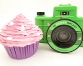 Centerpieces cupcake - FAKE CUPCAKE centerpieces graet for cupcake stand , cake stand  cake pedestal stand pink icing