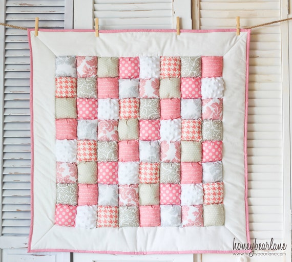 Sophie Puff Quilt READY TO SHIP
