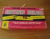 Vintage Word and Phrase Sentence Builder by Kenworthy Educational Service, Inc.