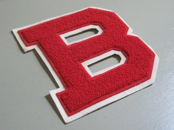 vintage varsity letter B