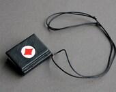 Ace - miniature book necklace