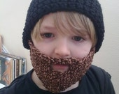 Childs Beardie Beanie Custom made for you.