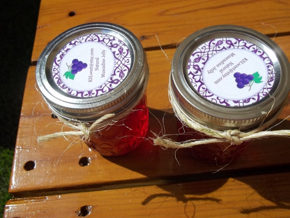 Homemade Natural Muscadine Jelly