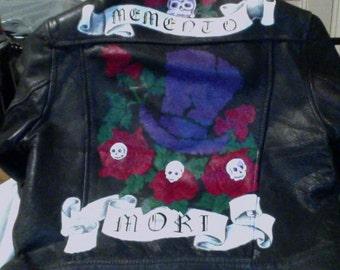 Memento Mori Jacket for Stephen Lee in St Louis