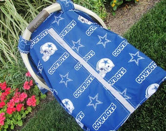 Carseat canopy Dallas Cowboys / Car seat cover / car seat canopy / carseat cover / carseat canopy / nursing cover