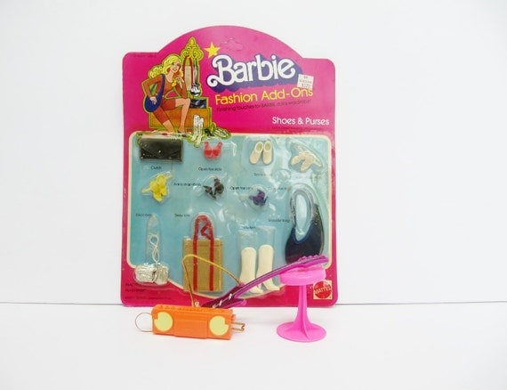 Barbie Fashion Add Ons Accessories Shoes and Purses MIB