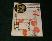 Vintage Family Circle Magazine February 1959 - 10 Cent Cover Price, Art, Scrapbooking, Retro, Vintage 1950s Ads