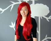 SALE: Phoenix - Red Superlong Wig - FREE SHIPPING