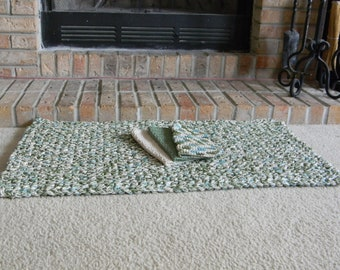 Cotton Rope Rug - Pattern Only - permission to sell what you make
