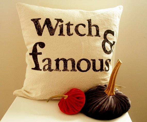 Witch & Famous - Pillow Cover