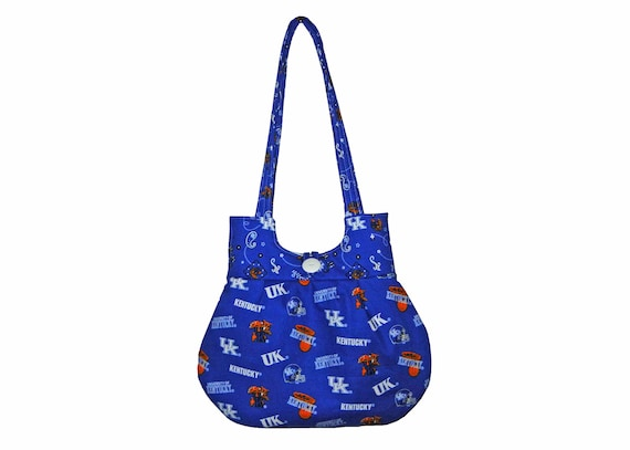 Kentucky Wildcats Purse Handbag Classy Curvy Tote Mothers Day Gift Idea made by CraftCrazy4U
